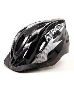 Capacete Para Ciclismo Viseira Removível Atrio - Preto/Branco