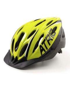 Capacete Para Ciclismo Viseira Removível Atrio - Neon/Preto