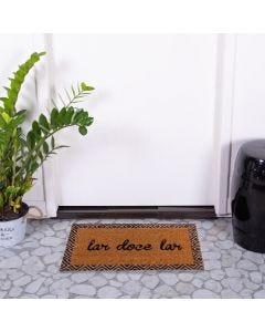 Capacho Fibra De Coco 33 X 60Cm Mumbai Havan - Lar Doce Lar