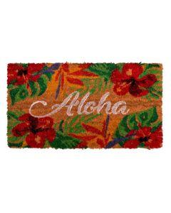 Capacho Fibra De Coco Mumbai 33X60cm Havan - Aloha