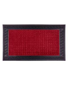 Capacho Para Entrada Calcuta 45X75cm Havan - Vermelho