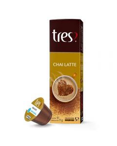 Cápsulas Chai Latte 105G Tres - 10 Cápsulas