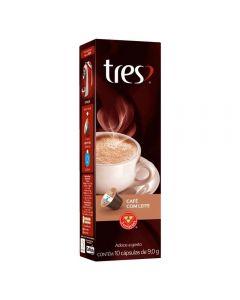 Cápsulas de Café com Leite Tres - 10 Cápsulas