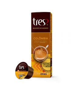 Cápsulas De Café Espresso Colômbia 75G - 10 Cápsulas