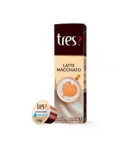 Cápsulas Latte Macchiato 110G Tres - 10 Cápsulas