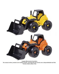Carregadeira 510 Cosntrucion Orange Toys - 510