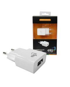 Carregador Universal com uma Porta USB ELG WC1A - DIVERSOS