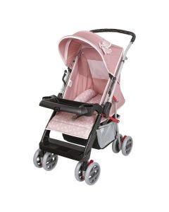 Carrinho Bebê Berço Reversível Thor Tutti Baby - Rosa