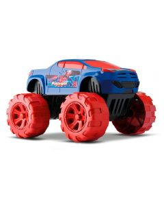 Carrinho Big Car Force Man Orange Toys - 443