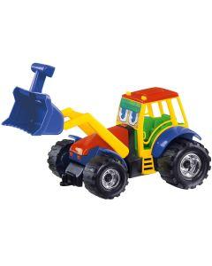 Carrinho Build Friends Caminhão e Trator Dismat - Vermelho