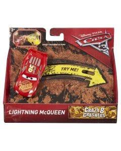 Carrinho Cars3 Cracy Mattel - Relâmpago McQueen