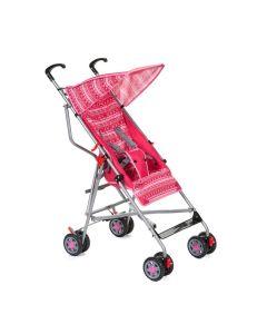 Carrinho de Bebê 6 meses a 15 kg Umbrella Slim - Rosa
