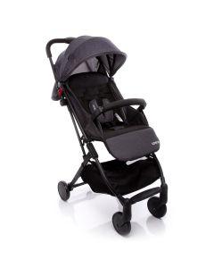 Carrinho de Bebê Para Passeio Pocket Clever Cosco - Preto Mescla