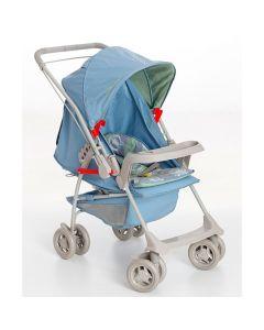 Carrinho de Bebê Milano Reversível Galzerano - Azul Real