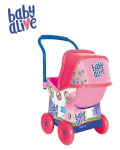 Carrinho de Boneca Baby Alive Cotiplás - Rosa