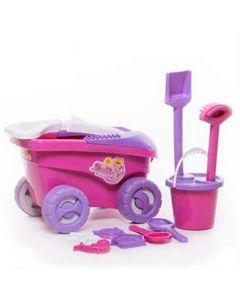Carrinho Debbie Praia com 9 peças 9078 - Bell Toys - DIVERSOS