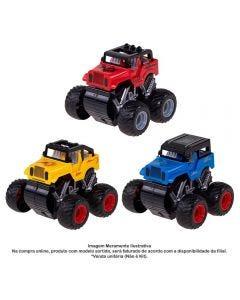 Carrinho Jipe Express Wheels Fricção Multikids - BR794