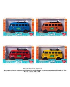 Carrinho Kombi Swell Orange Toys - 0506