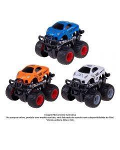 Carrinho Monster Truck Express Wheels Fricção Multikids - BR795