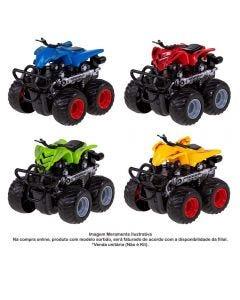 Carrinho Quadriciclo Express Wheels Fricção Multikids - BR793