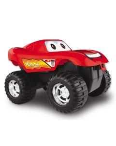 Carrinho Monster Infantil Race Dismat - Vermelho