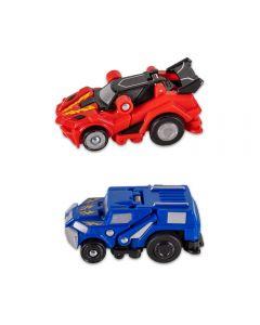 Carrinho Robot Racerz Multikids - BR863 - Vermelho e Azul