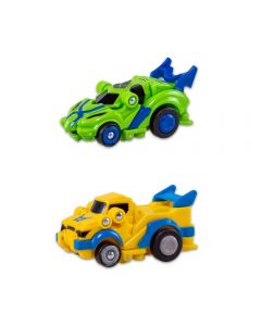 Carrinho Robot Racerz Multikids - BR866 - Verde e Amarelo