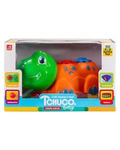 Carrinho Tchuco Baby Animais Samba Toys - 221 - Tartaruga Engrenagem