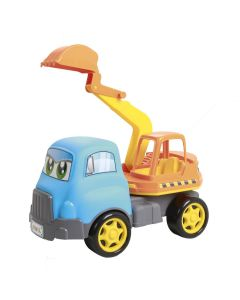 Carrinho Truck Escavadeira 4121 Maral - Azul