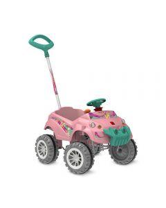 Carro Baby Cross Passeio & Pedal - 573 - Rosa