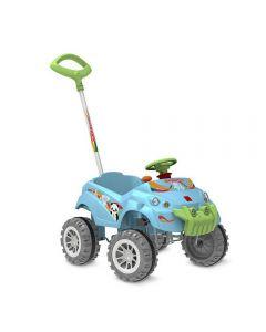 Carro Baby Cross Passeio & Pedal Bandeirante - 572 - Azul