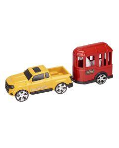Carro com Cavalo 0503 Orange Toys - Amarelo