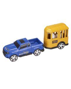 Carro com Cavalo 0503 Orange Toys - Azul