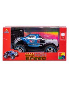 Carro com Controle Remoto High Speed CKS Toys - 13830 - Azul