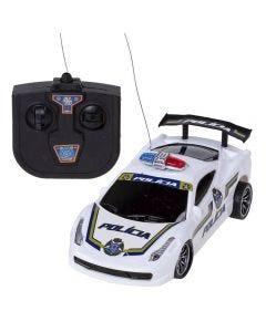 Carro Com Controle Remoto Polícia Cks - K2747P
