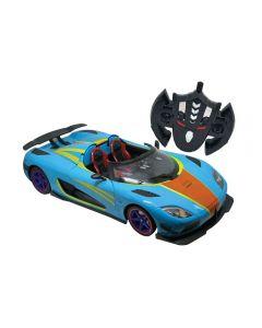 Carro com Controle Remoto Power Speed Candide - 3501 - Azul