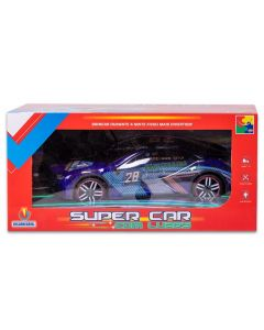 Carro com Controle Remoto Super Car CKS Toys - Azul