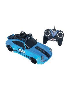 Carro com Controle Remoto Turbo Driver Candide - 3535 - Azul