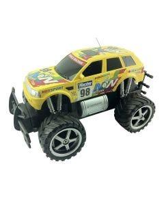 Carro Controle Remoto Four-Wheeler Rally CKS Toys - Amarelo
