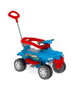 Carro de Passeio e Pedal SuperQuad Bandeirante - Azul