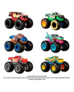 Carro Hot Wheels 1:64 Monster Trucks Mattel - FYJ44
