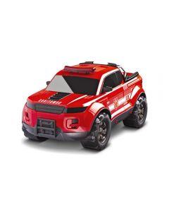 Carro Pick Up Force Fire Roma Brinquedos - 0992 - Vermelho