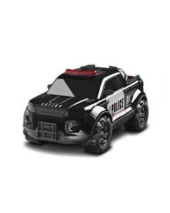 Carro Pick Up Force Police Roma Brinquedos - 0991 - Preto