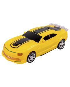 Carro Robot Trasformations HA0087 Havan - Amarelo