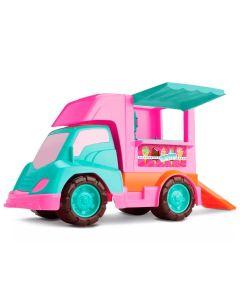 Carro Sorveteria Judy 118 Samba Toys - Rosa