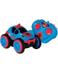 Carro com Controle Remoto Spider Flip Marvel Candide - DIVERSOS