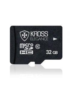 Cartão de Memória MicroSD 32GB Kross Elegance - Preto