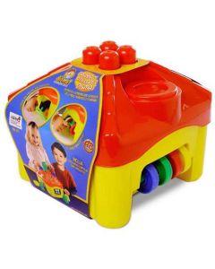 Casinha de Atividades Pedagógica Infantil Dismat - Amarelo