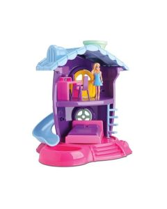 Casinha Boneca Quarto Judy 219 Samba Toys - Rosa