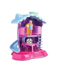 Casinha de Boneca Cozinha Judy 220 Samba Toys - Rosa
